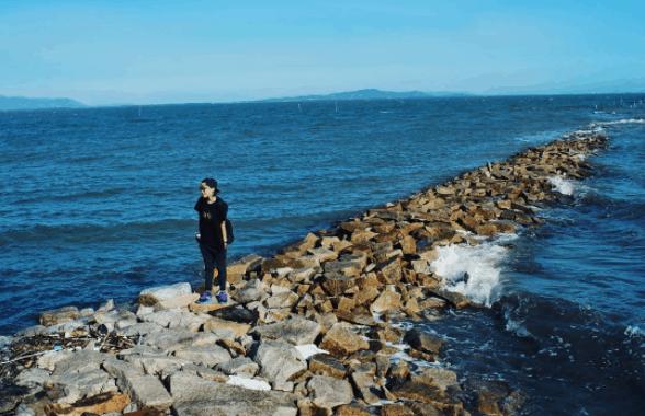 Hình ảnh du khách chụp được tại đảo Thạnh An - Cần Giờ