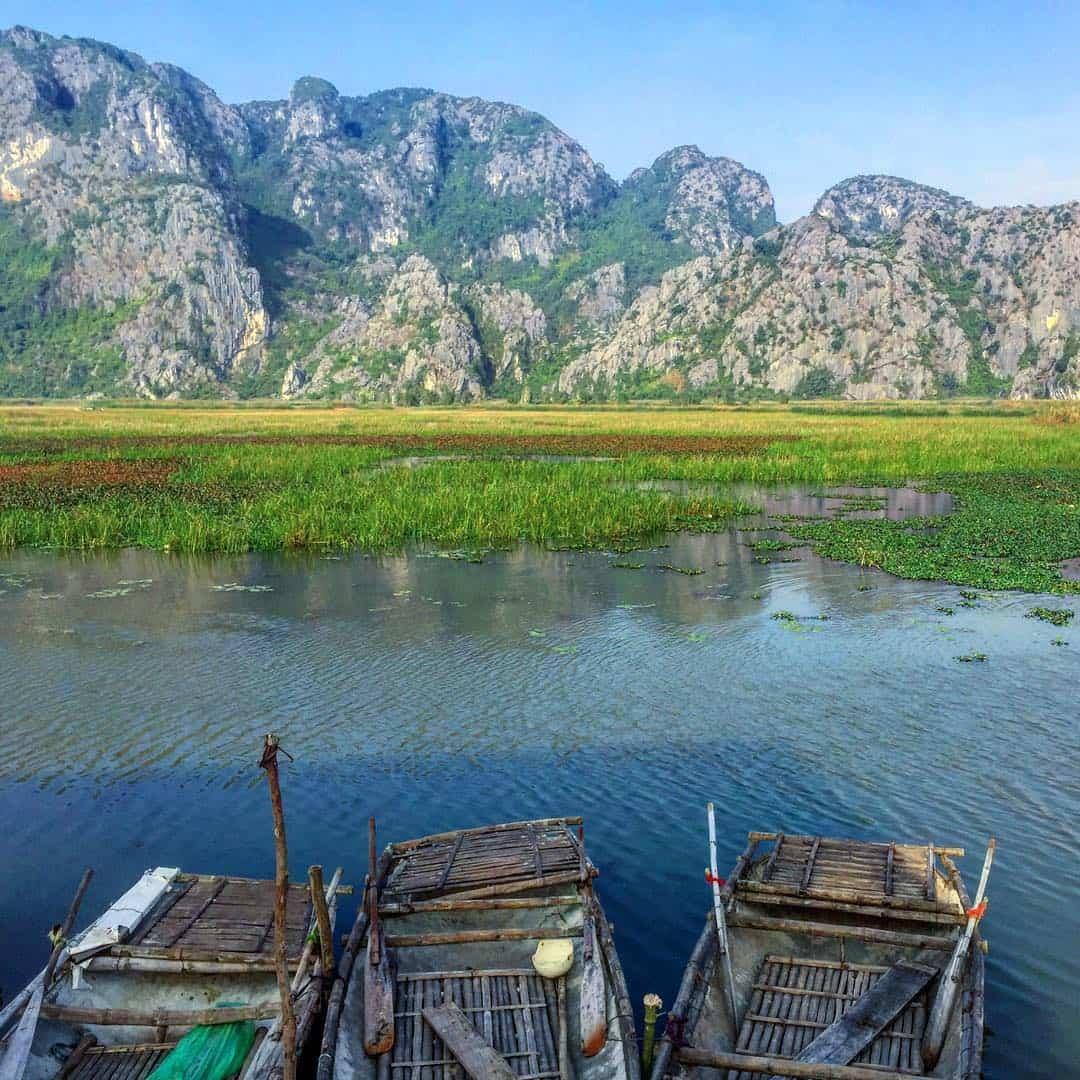 Phong cảnh hữu tình của đầm Vân Long