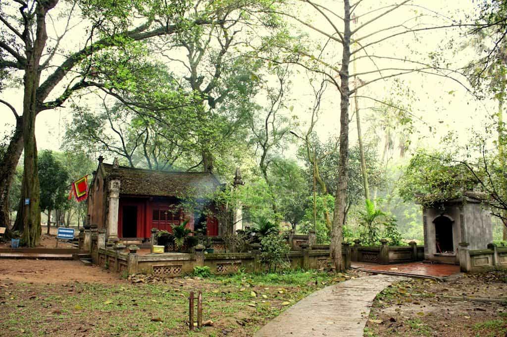 Đền Mẫu trong quần thể di tích đền Gióng Sóc Sơn