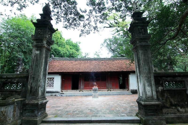 Đền Trình trong quần thể di tích đền Gióng Sóc Sơn