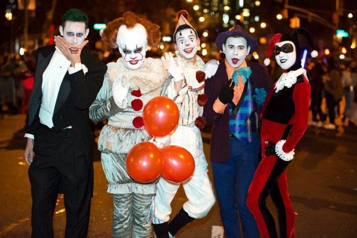 Không khí trên phố đi bộ mỗi dịp lế Halloween vô cùng náo nhiệt và sôi động. Ảnh: FB Phố đi bộ Hồ Gươm