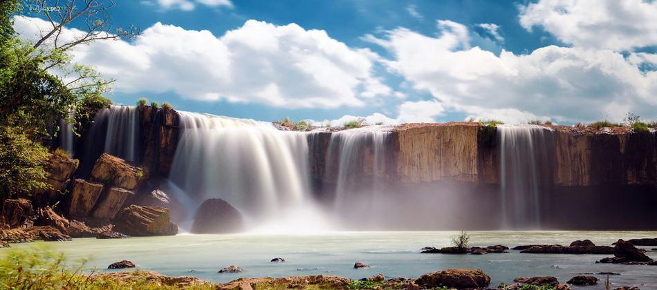 Ngọn thác Dray Sap hùng vĩ và ấn tượng vô cùng