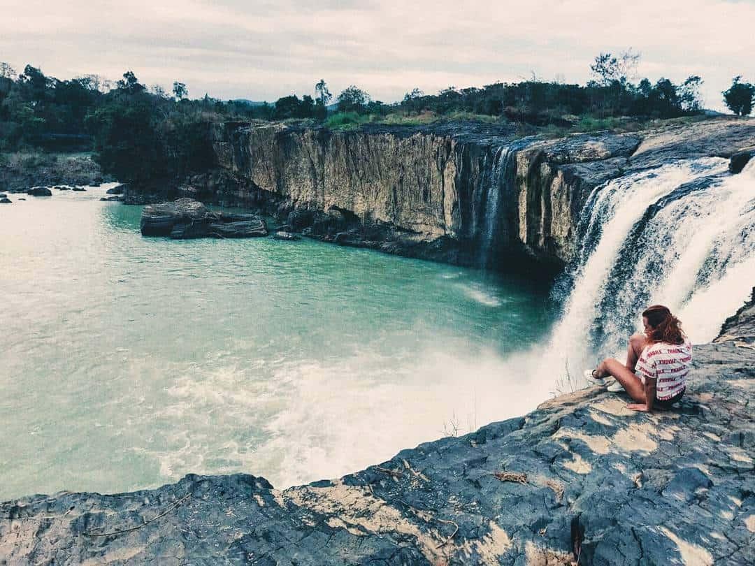 Dray Sap còn là điểm đến yêu thích của khách du lịch ngoại quốc