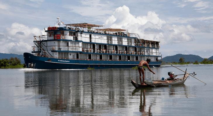 7 tàu du lịch trên sông Sài Gòn và sông Mê Kông