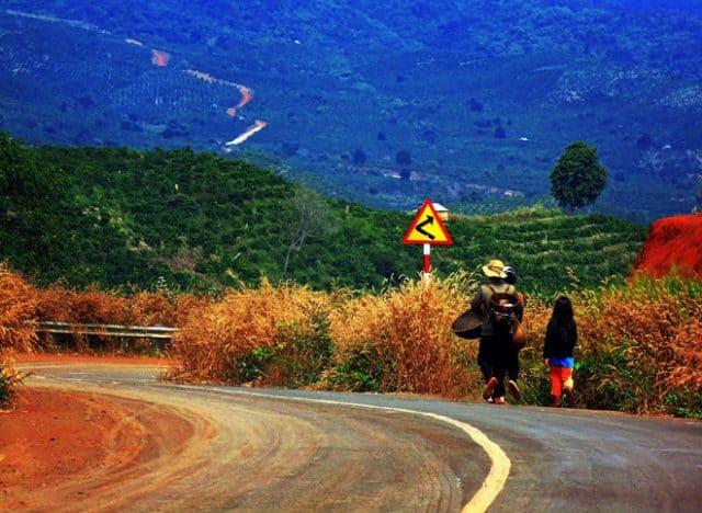 Đoạn đường thay thế để đi lưu thông giữ Bình Thuận và Lâm Đồng