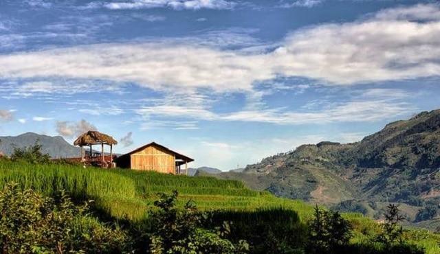 Nắng vàng cỏ xanh khiến cảnh đẹp Mai Châu trở nên trữ tình