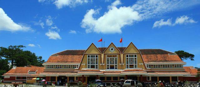 Nhà ga Đà Lạt - địa điểm du lịch Đà Lạt