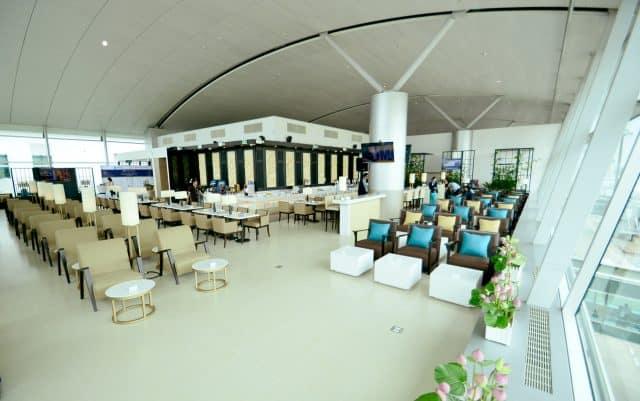 Thiết kế hiện đại với hệ thống phòng chờ ra máy bay phục vụ cho du khách