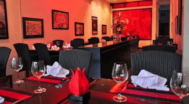 Không gian lãng mạn tại Red Sky Bar & Restaurant