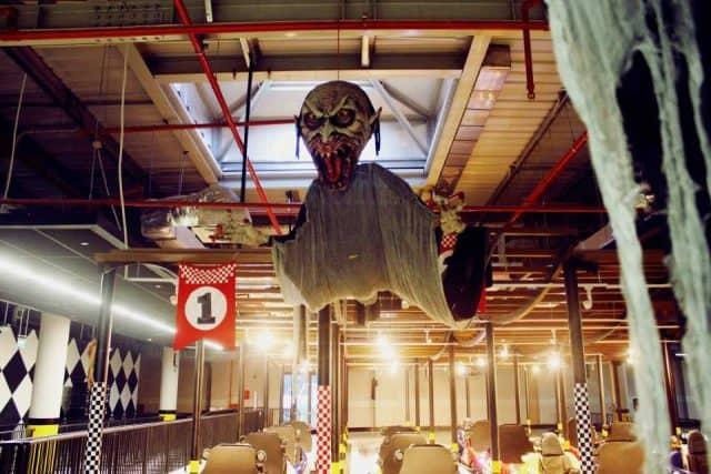 Đường đua ma quái đầy kích thích cho đêm Halloween