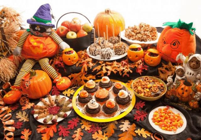 Đồ ăn thức uống cho lễ hội Halloween