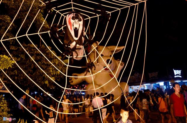 Trang trí lễ hội Halloween ma quái