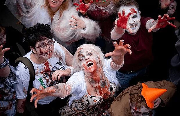 Hóa trang rùng rợn cho đêm Halloween