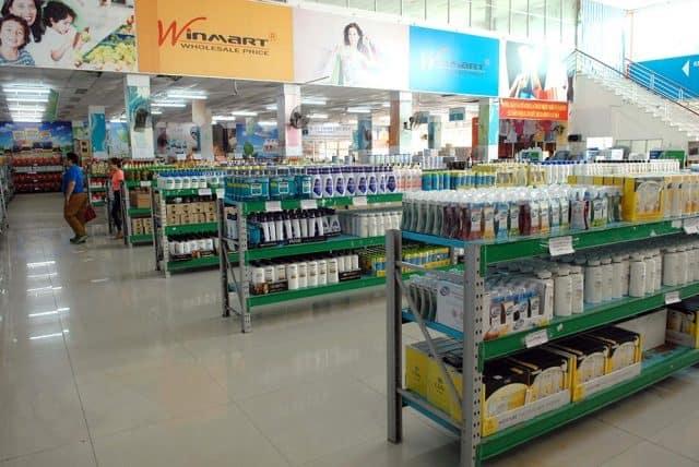 Hàng hóa bên trong siêu thị miễn thuế Song Châu