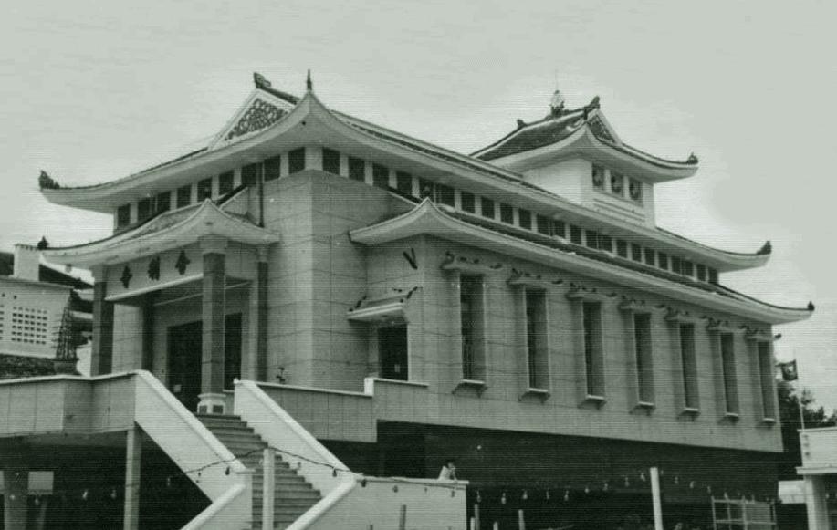 Hình ảnh Chùa Xá Lợi lúc mới xây vào năm 1956