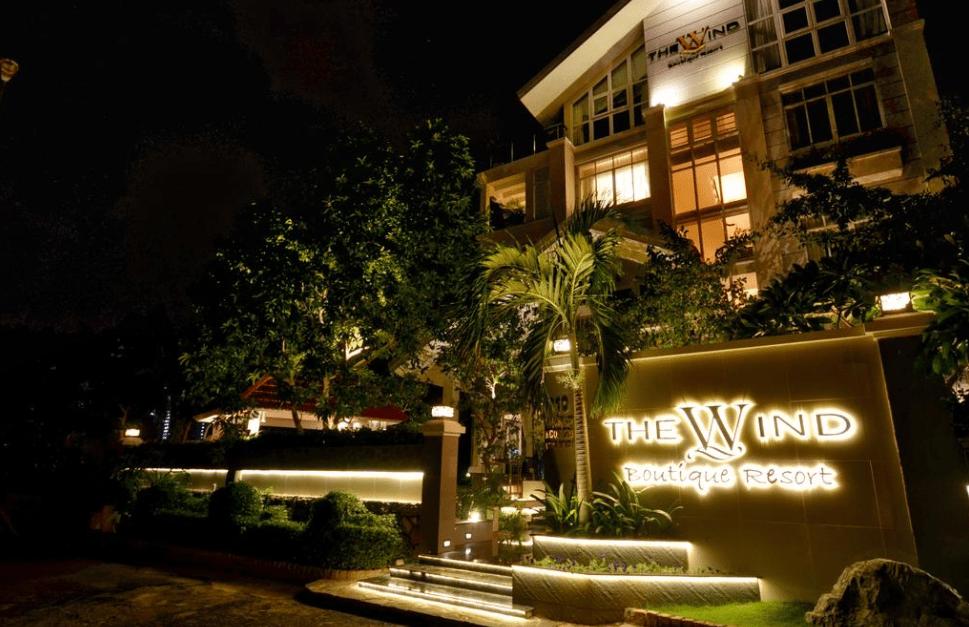 Khu vực cổng vào resort
