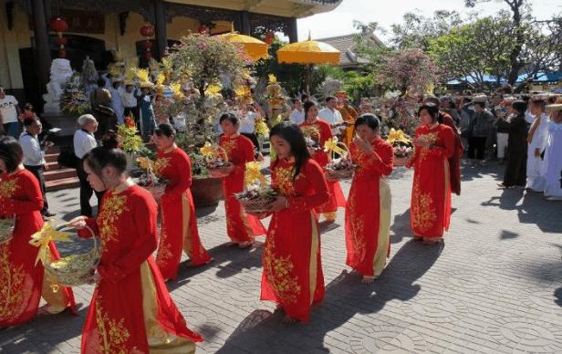 Hình ảnh lễ hội tại Chùa Xã Lợi
