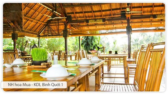 Hình ảnh nhà hàng Hoa Mua - KDL Bình Quới