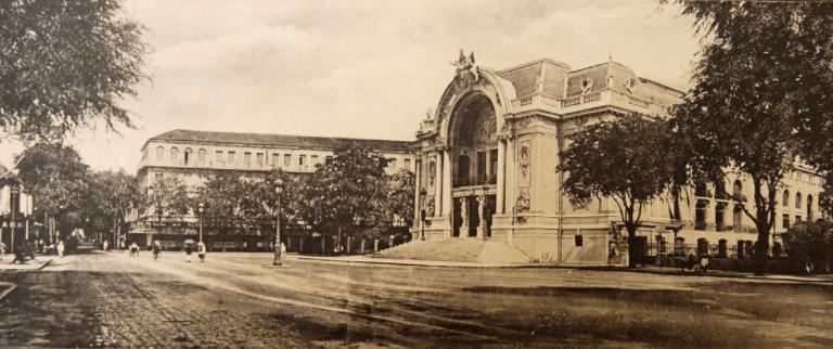 Hình ảnh nhà hát Sài Gòn xưa