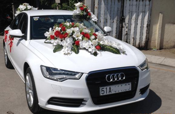 Hình ảnh xe thuê đám cưới tại Công ty Long Thành