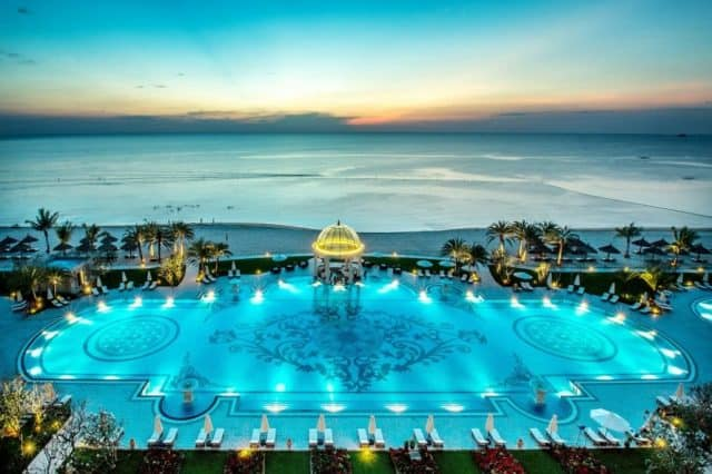 View biển Vinpearl Phu Quoc Ocean Resort & Villas từ trên cao