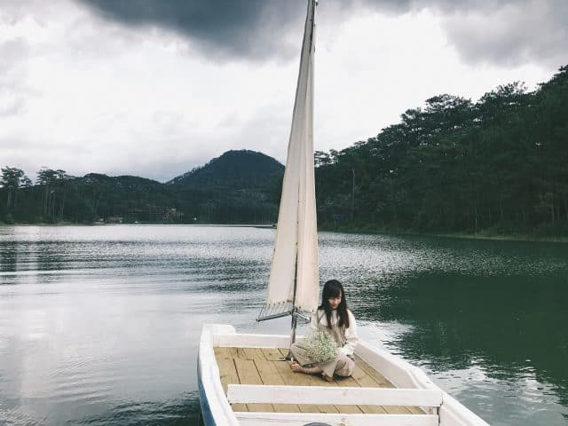 Thiên đường sống ảo tại hồ Tuyền Lâm Đà Lạt