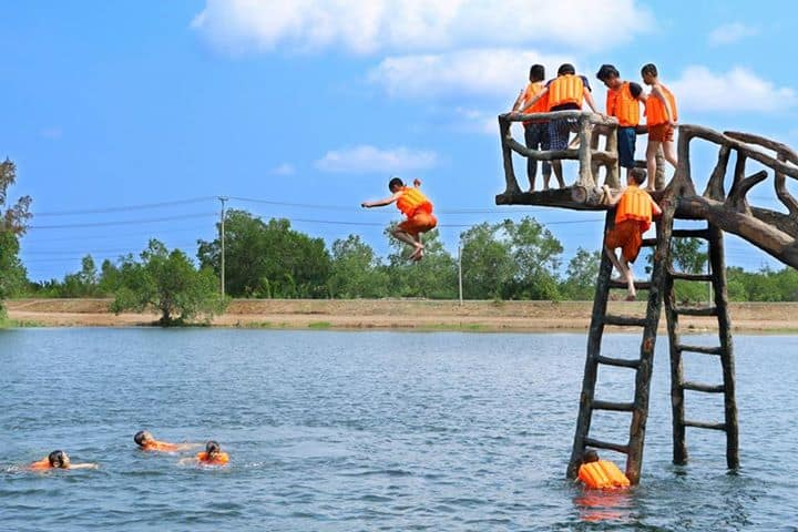 Exciting water games
