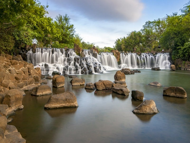 The majestic beauty of Giang Dien waterfall
