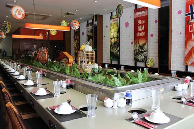 Không gian lẩu nấm Muru - buffet ngon Hà Nội