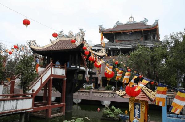 Hình ảnh chùa Một cột tại thành phố Hồ Chí Minh