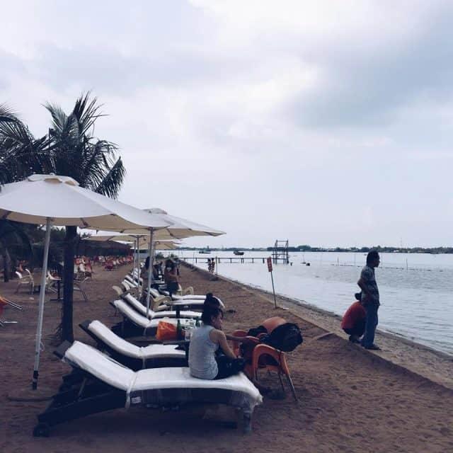 Thư giãn trên biển Cần Thơ