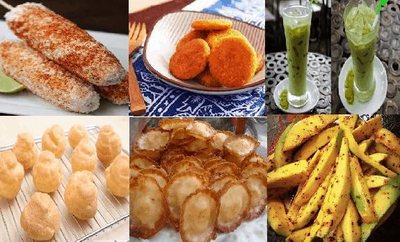 Là địa điểm nổi tiếng với nhiều món ăn vặt ngon