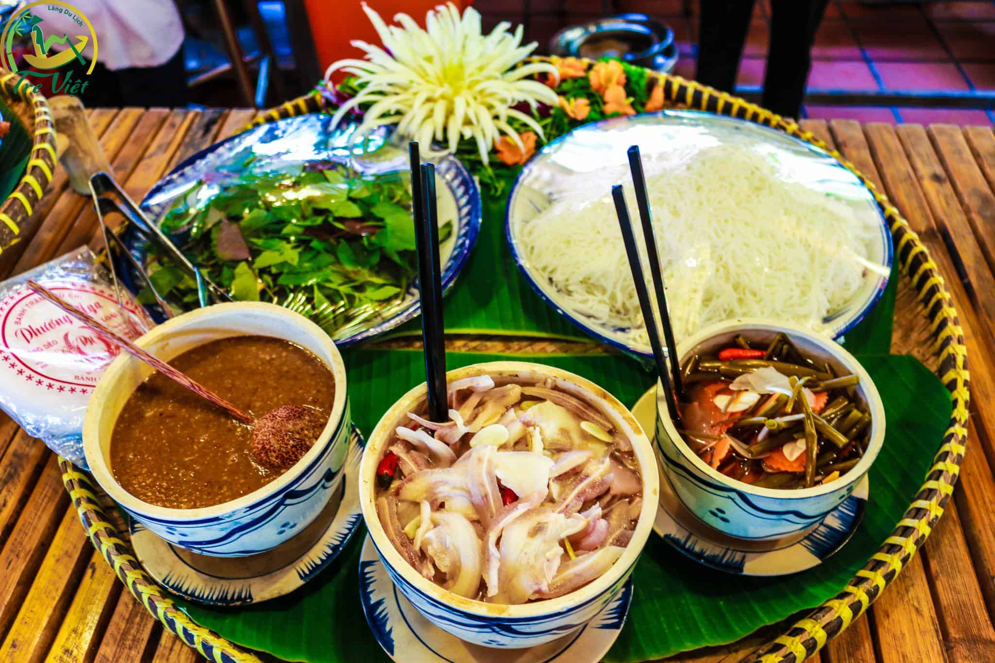 The idyllic cuisine is extremely rich and delicious