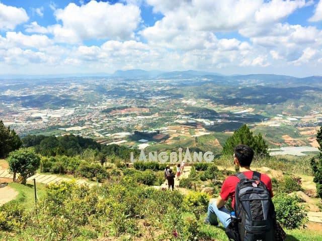 Địa điểm vui chơi Đà Lạt - đỉnh Langbiang