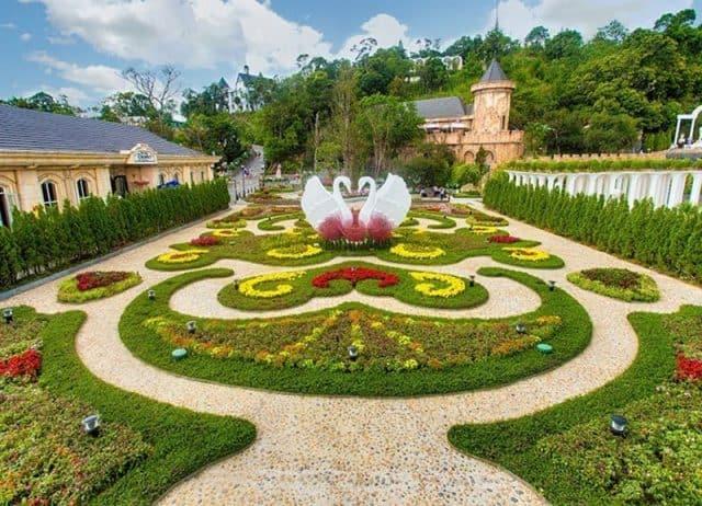 Vườn hoa tình yêu ở Bà Nà 01