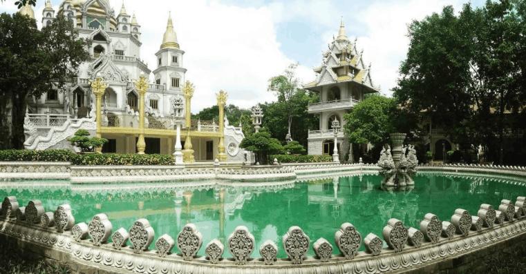 một góc ảnh đẹp khác tại chùa Bửu Long