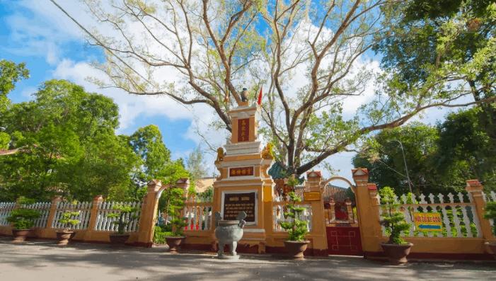 Một góc nhỏ yên tĩnh, thanh bình tại chùa Giác Lâm