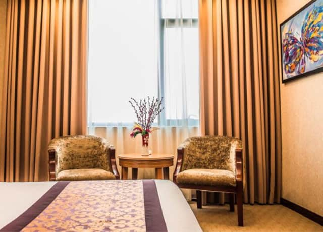 Không gian bên trong các phòng khách sạn