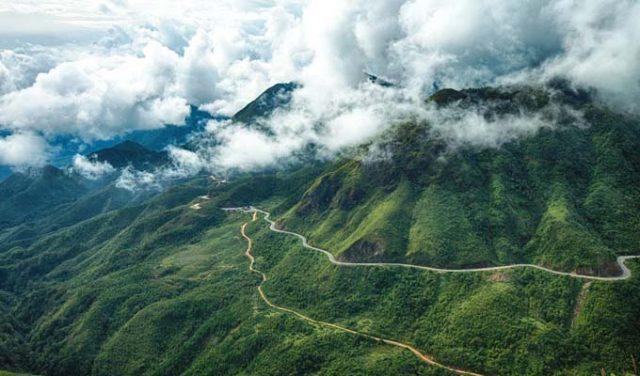 Núi Ngọc Linh nên thơ, hùng vĩ (Ảnh sưu tầm)