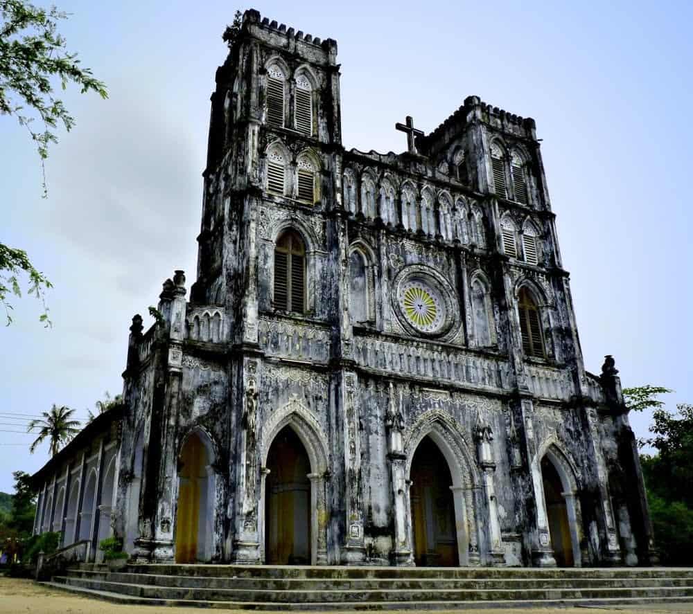 Nhà thờ Mằng Lăng - Phú Yên (Ảnh: ST)