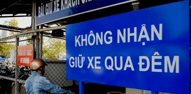 Ở sân bay Tân Sơn Nhất không nhận giữ xe qua đêm