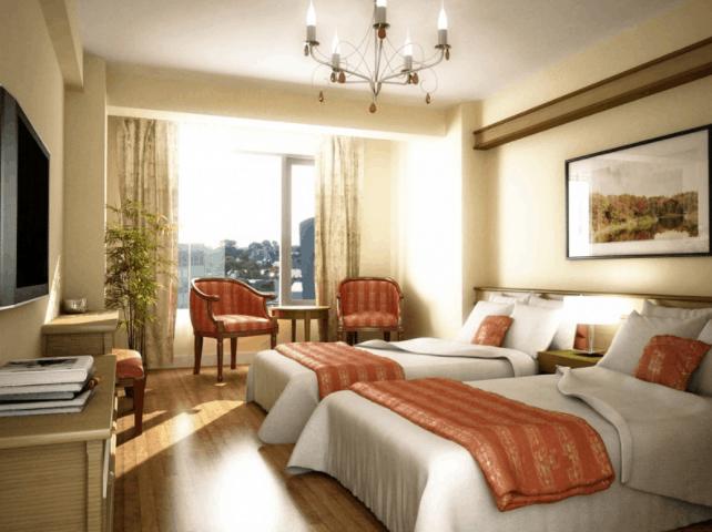 Hình ảnh phòng nghỉ sang trọng tại Mi Lan Hotel