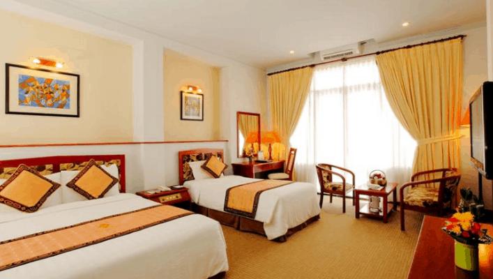 Phòng nghỉ sang trọng tại Grand Hotel