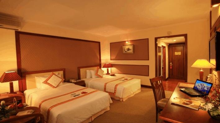 Phòng nghỉ sang trọng tại khách sạn Palace Vũng Tàu