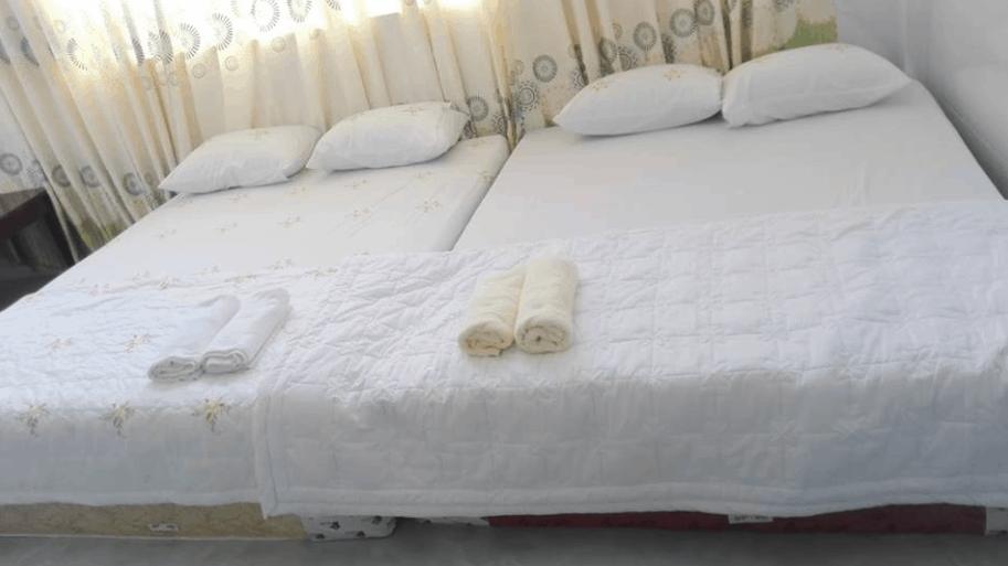 Phòng nghỉ Motel Thanh Kiều được thiết kế theo kiểu homestay