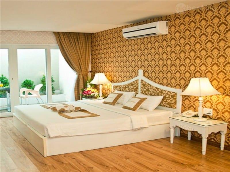 Khách sạn Petrosetco có phòng nghỉ đầy đủ tiện nghi