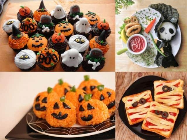 quà tặng halloween là đồ ngọt