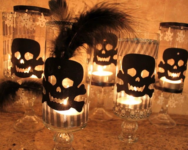 quà tặng halloween là những chiếc đèn lồng