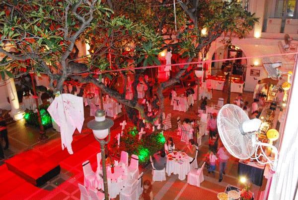 Không gian trang trí ấn tượng cho lễ Halloween