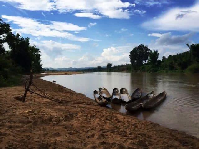 Sông Đăk Bla màu mỡ phù sa (Ảnh ST)